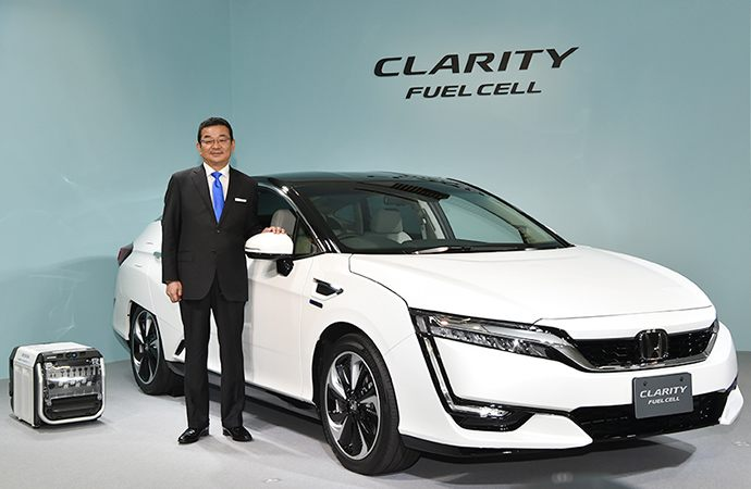 Clarity Fuel Cell, unveiled in March 2016