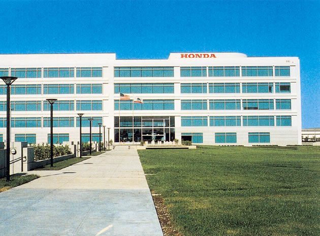 The New American Honda Headquarters Building 100 In Torrance Opened 1990 All Eleven Separate Buildings Occupy Same Campus