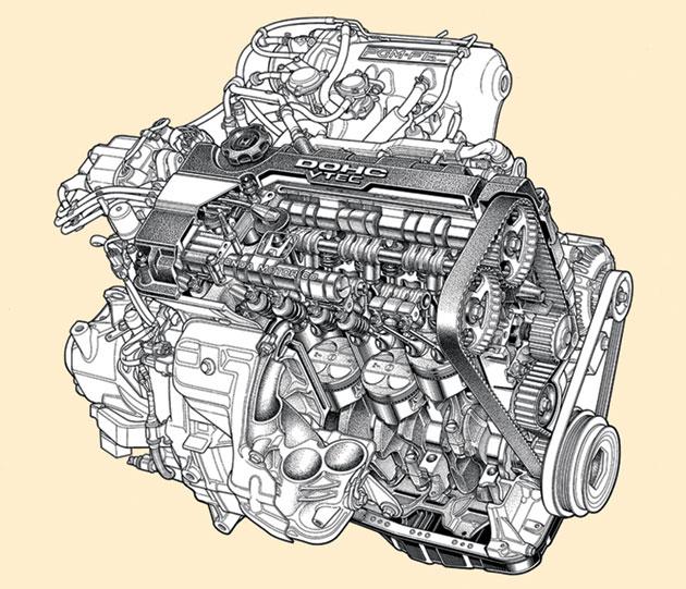 Honda Global The Vtec Engine 1989