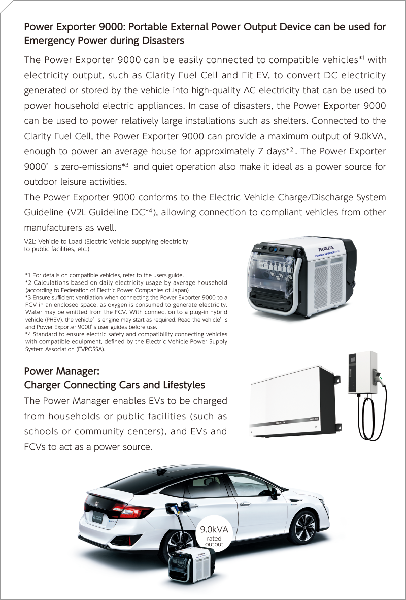 Power Exporter 9000: Portable External Power Output Device can be used for Emergency Power during Disasters