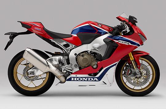 Honda Global Cbr1000rr Timeline