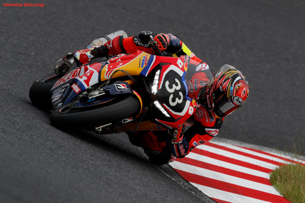 Red Bull Honda with Japan Post 2nd on Suzuka 8 Hours Starting Grid