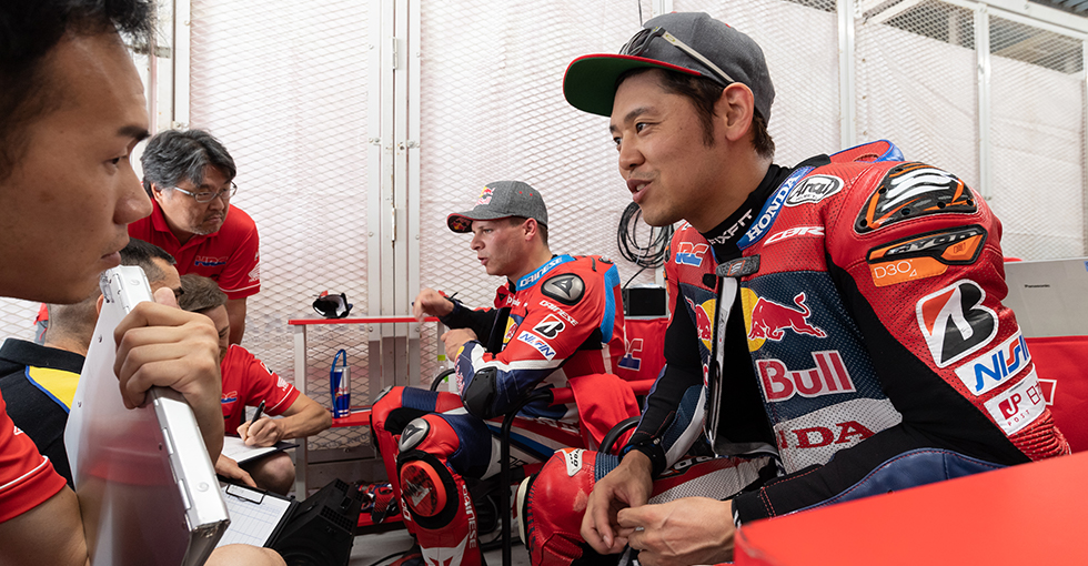 Red Bull Honda Stays On Top with Fastest Time in Joint Test Day 2