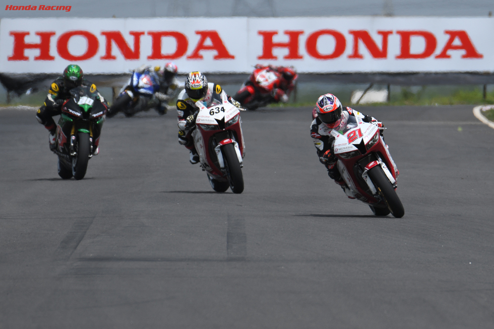 03japanHada Double 3rd in India, Zaidi 2nd in Race 1, Koyama 2nd in Race 2