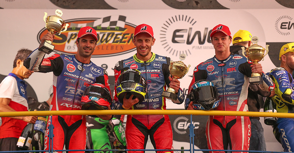 Victory for F.C.C. TSR Honda France at the 8 Hours of Oschersleben