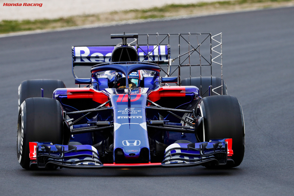 2018 Barcelona Test 1 – Day 2