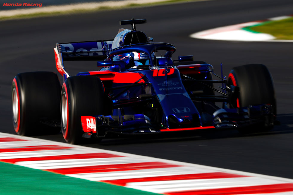 2018 Barcelona Test 2 – Day 1