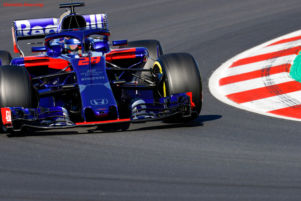 2018 Barcelona Test 2 – Day 2