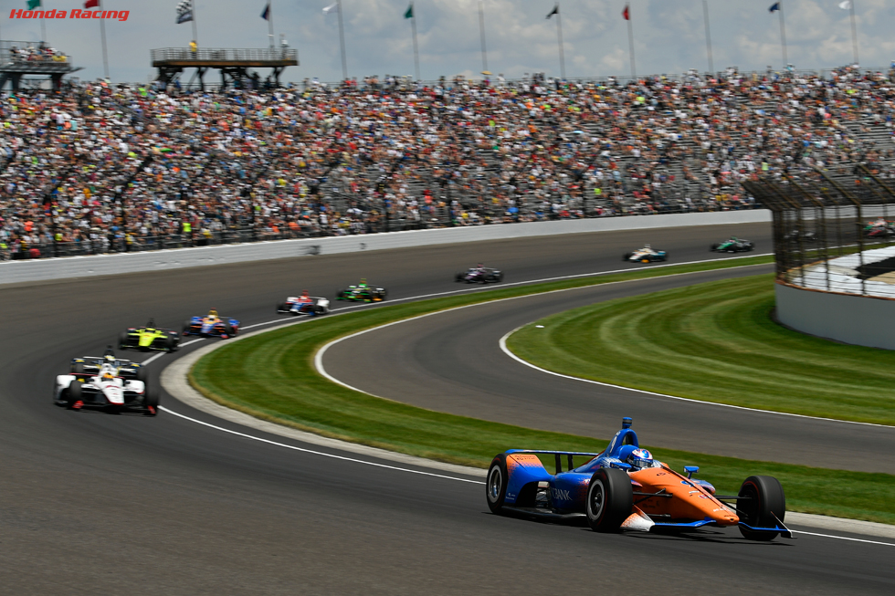 Competing pit strategies converged in the final laps of today's Indianapolis 500, as Scott Dixon and his Chip Ganassi Racing team worked fuel saving to the maximum to finish third.