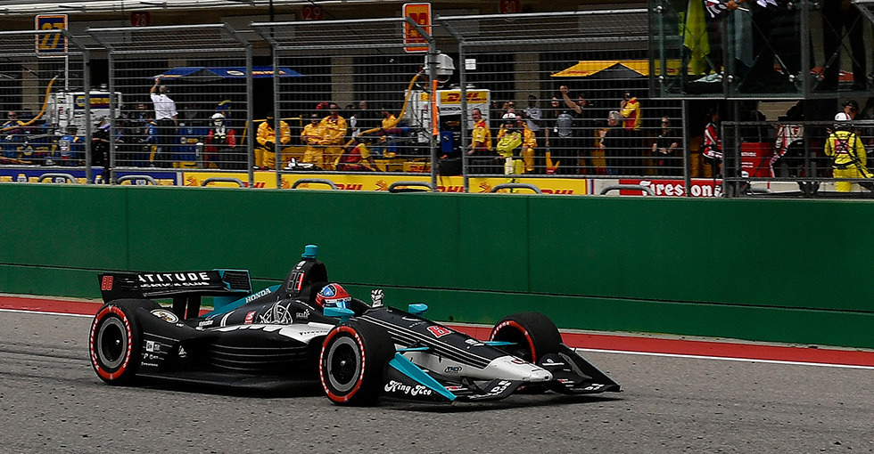 Herta, Honda Are Texas Tough, Win at Circuit of the Americas