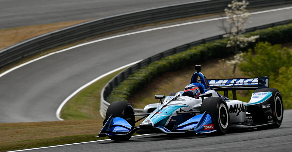Sato, Rahal Sweep Front Row in Honda Indy Grand Prix of Alabama Qualifying