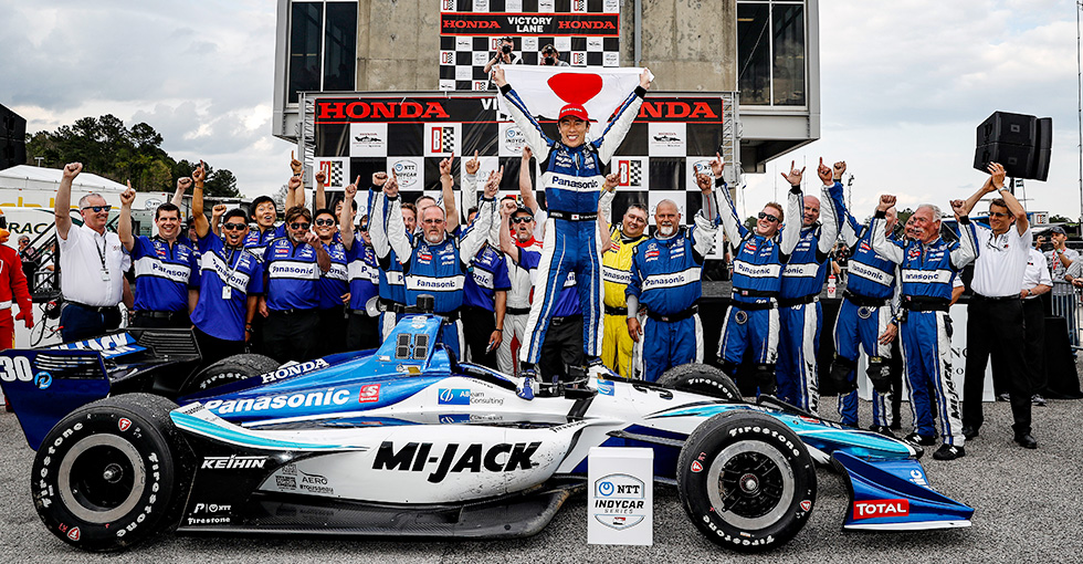 Sato Reigns Supreme at Honda Indy Grand Prix of Alabama