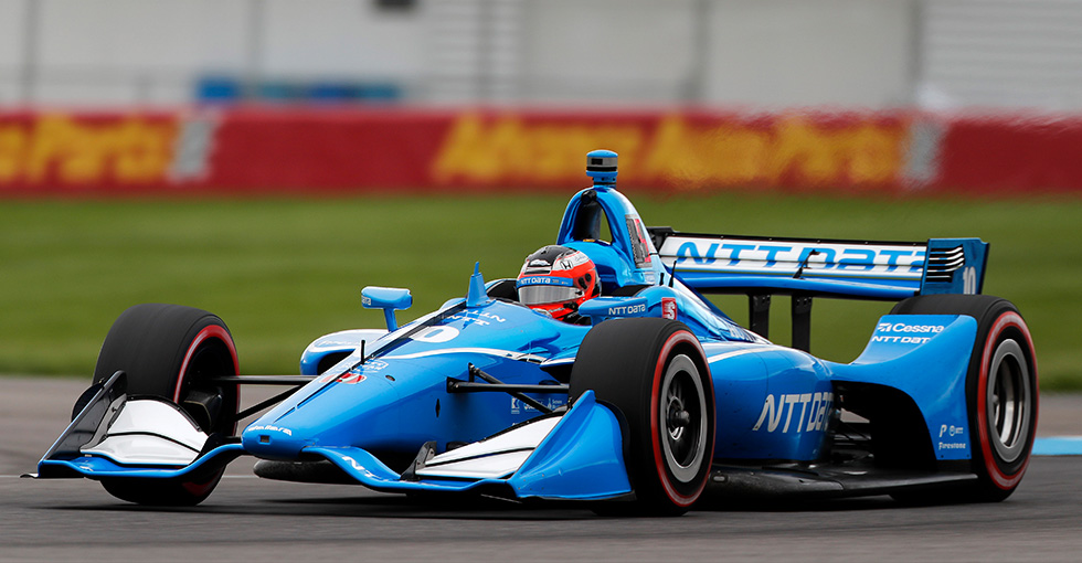 Rosenqvist, Dixon Lead Honda 1-4 in INDYCAR Grand Prix Qualifying Sweep
