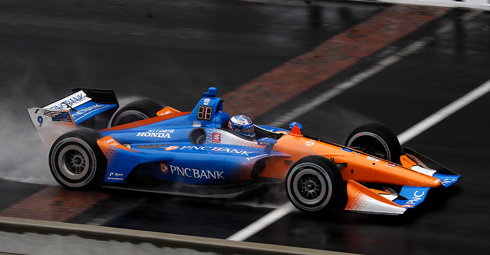 Dixon, Harvey Produce Podium Results for Honda at INDYCAR Grand Prix