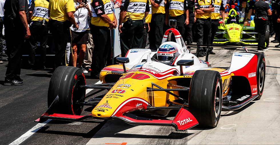Herta Leads Honda Qualifiers for Indianapolis 500