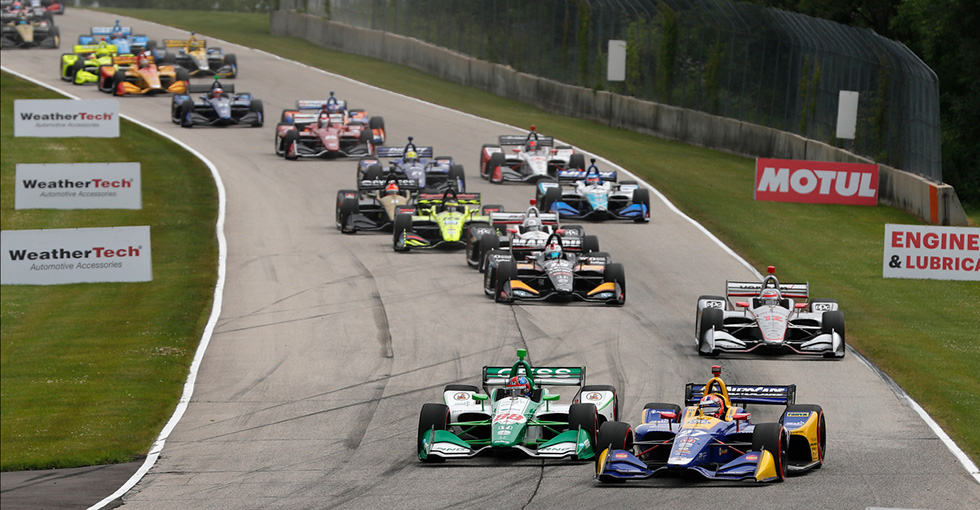 Rossi, Honda Reign at Road America