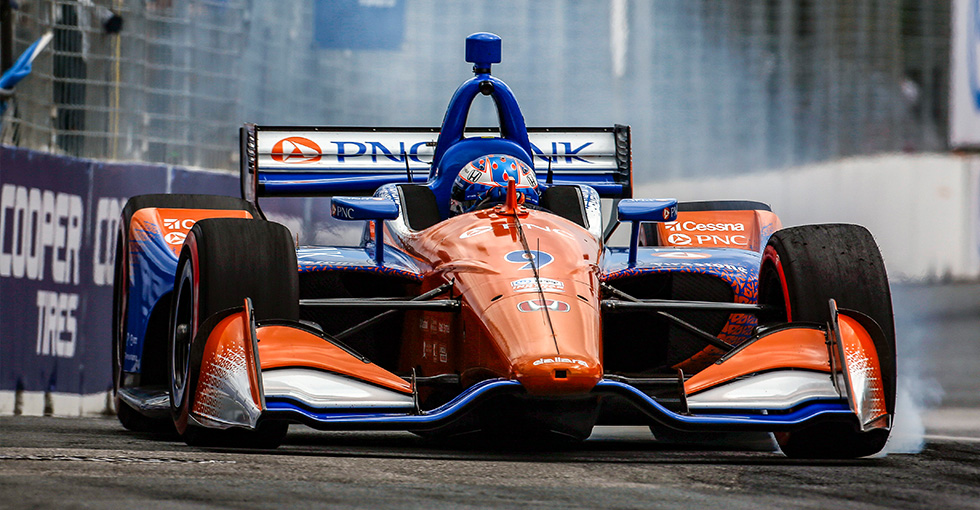 Teammates Dixon, Rosenqvist Top Honda Qualifiers in Toronto