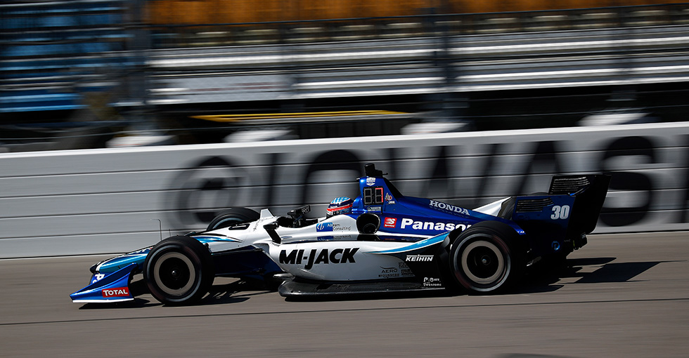 Sato Runs Fourth for Honda in Iowa Qualifying
