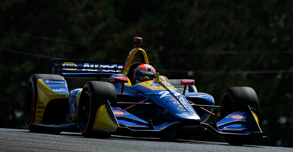 Front-Row Start for Rossi, Honda at Mid-Ohio