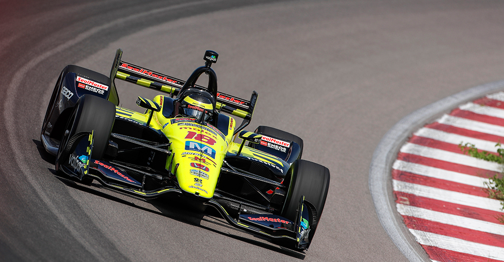 Bourdais Runs Second for Honda in St. Louis Qualifying