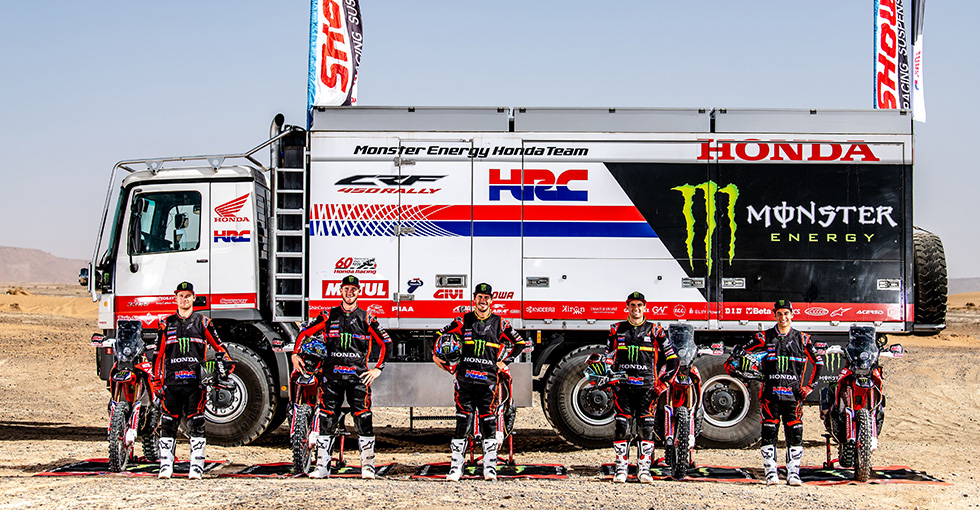 Monster Energy Honda Team Faces Most Challenging and Unprecedented Dakar