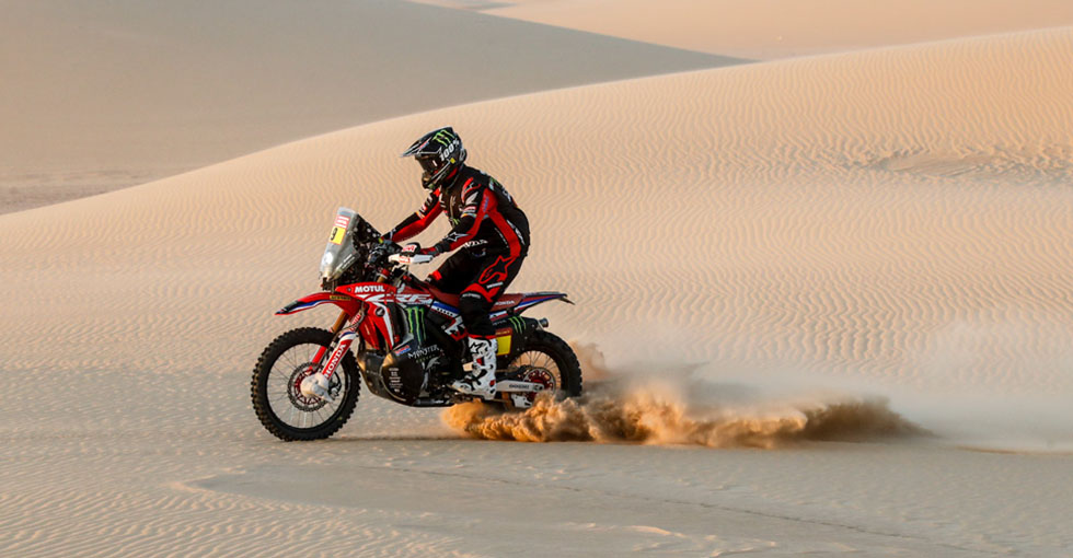 Ricky Brabec Leads the Dakar with One Stage to Go