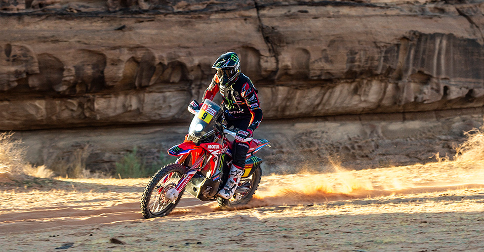 Ricky Brabec Controls the Dakar and Remains Leader after the Fifth Stage