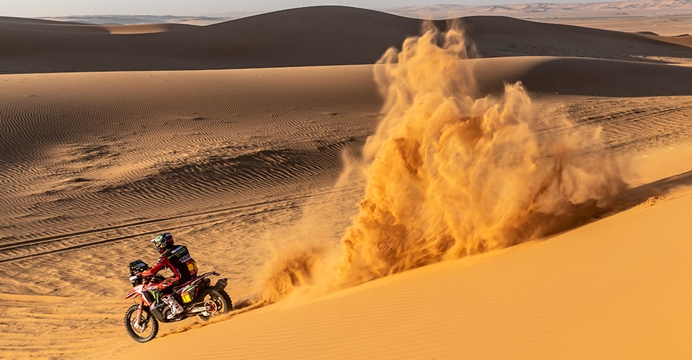 Kevin Benavides Claims First Dakar 2020 Stage Win on Brutal Day