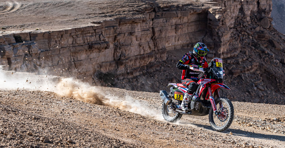 Ricky Brabec Remains in Command at the Dakar