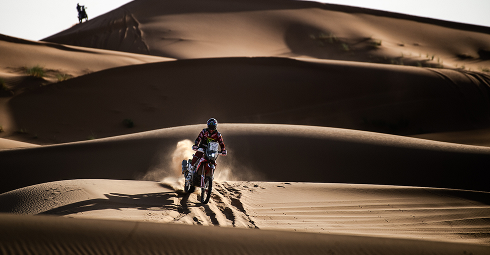 Stage Victory And Leadership for Joan Barreda in Morocco Rally Stage 2