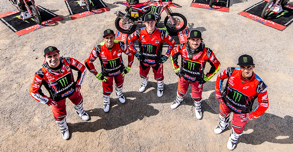 Monster Energy Honda Team takes aim at the over-all Victory of Dakar The beginning of a new challacge
