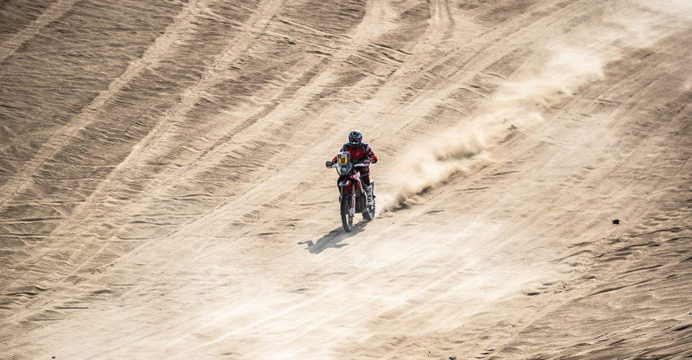 Monster Energy Honda Team Finishes the 2019 Dakar