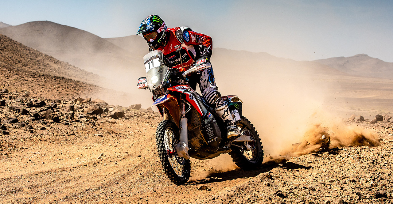 After Morocco Rally Marathon Stage, Ricky Brabec Remains in the Fight for the Podium