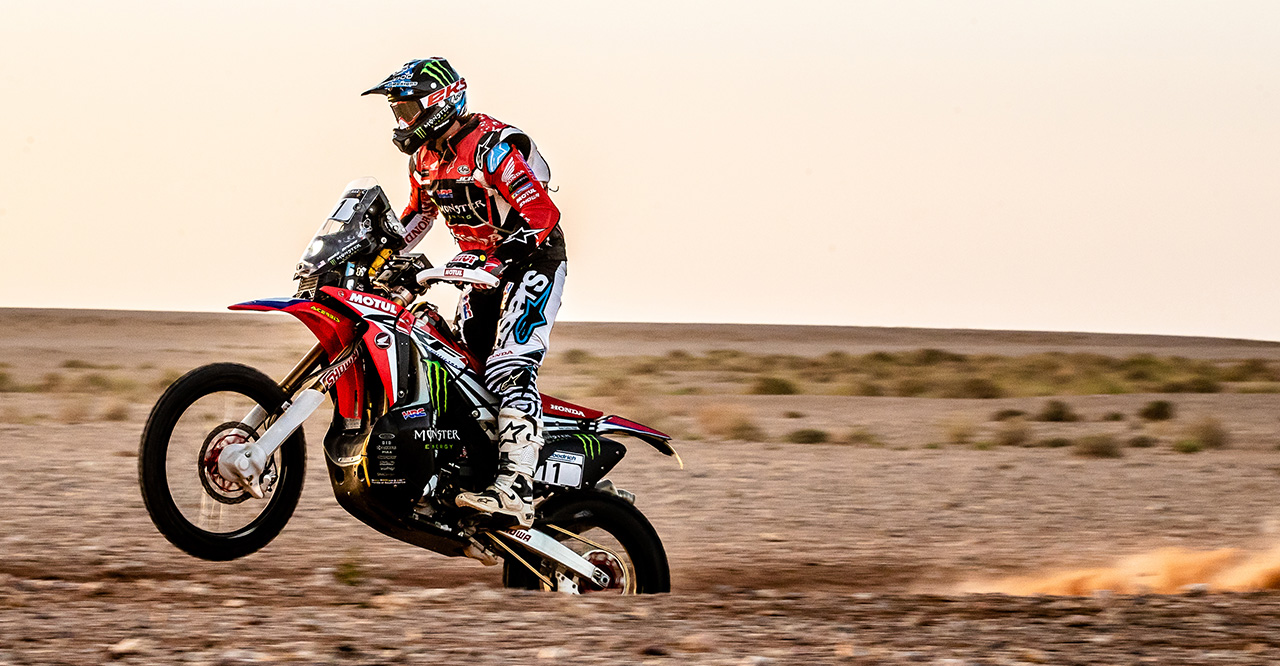 Ricky Brabec Wins Final Stage and Secures Podium Spot in Morocco Rally