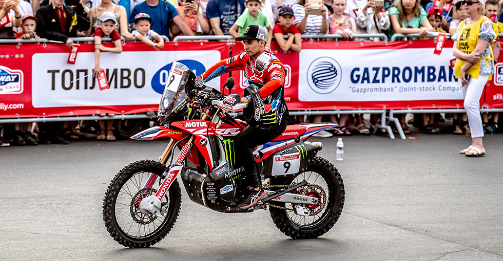 Monster Energy Honda Team Set for Historic Edition of the Silk Way Rally
