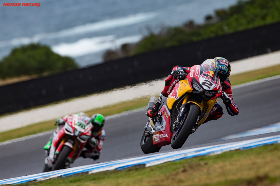 Camier Fights to Seventh in Race 1 at Phillip Island