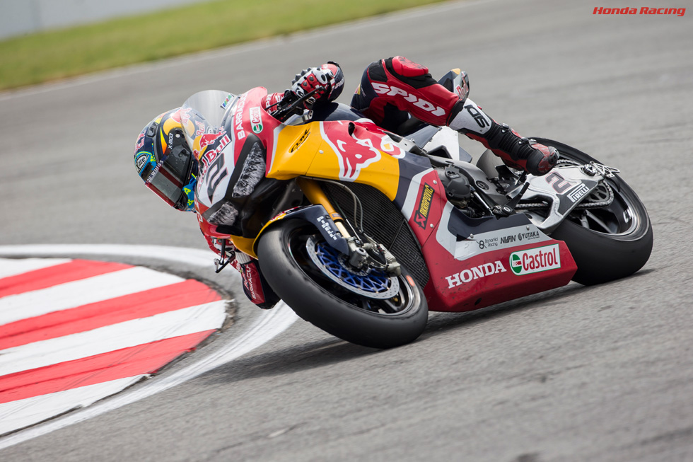 Courageous Camier Clinches Top-ten Finish in Race 1 at Donington