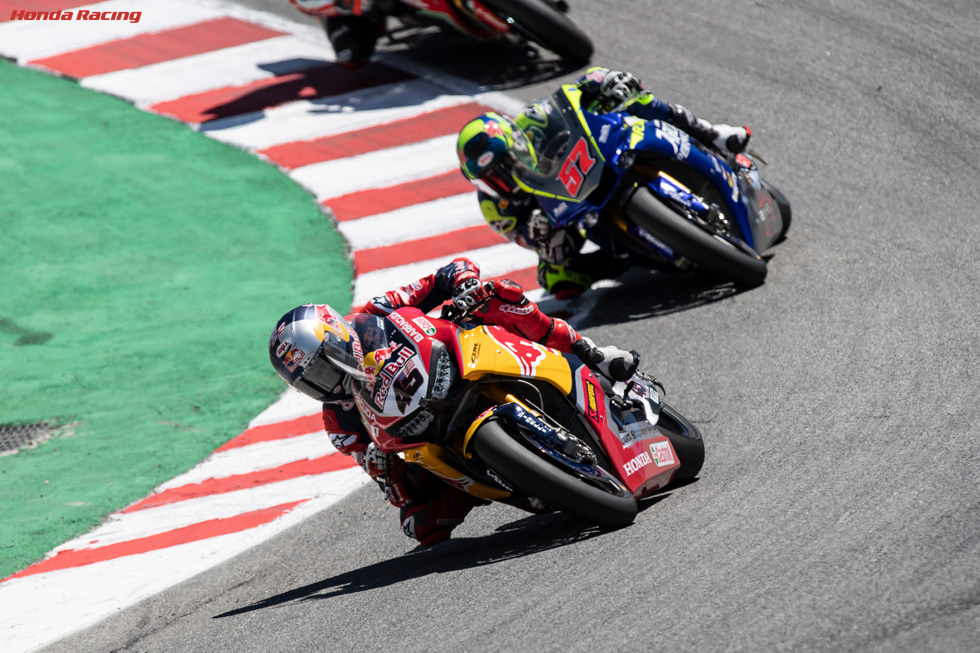 Gagne Caps Successful WorldSBK Homecoming with Ninth Place in Laguna Seca Race 2