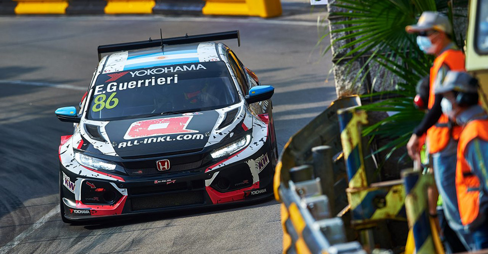 Incredible Recovery Puts Guerrieri on Pole in Macau