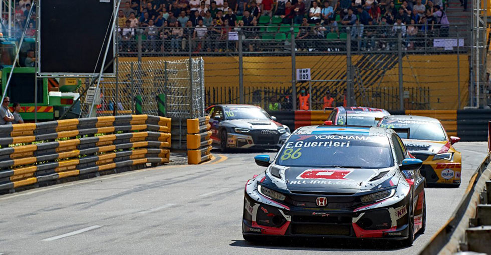 Guerrieri Remains in WTCR Title Hunt with Macau Points