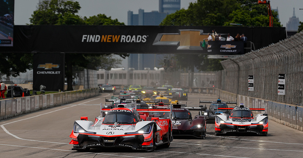 Acura Team Penske Takes Victory on the Streets of Detroit