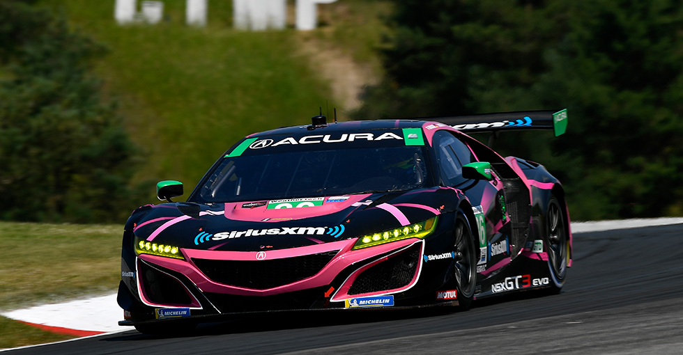 Podium Finishes for Acura Teams at Canadian Tire Motorsports Park