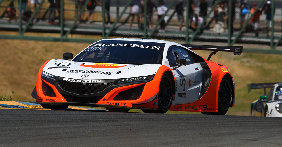 RealTime Racing Acura NSX GT3 Evo Earns Sonoma Podiums