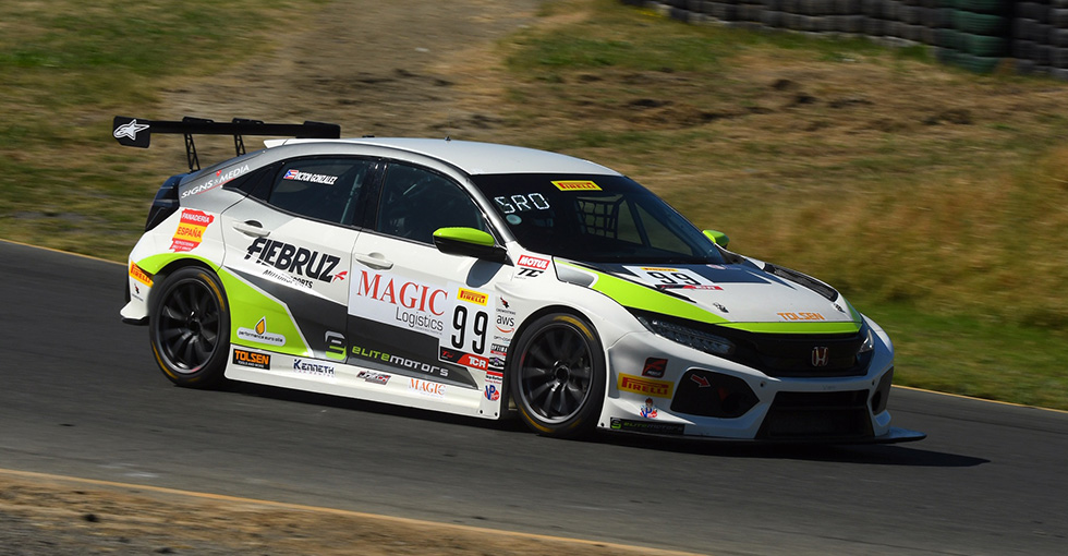 Gonzalez Earns First Win of 2019 in SRO Touring car R Class at Sonoma