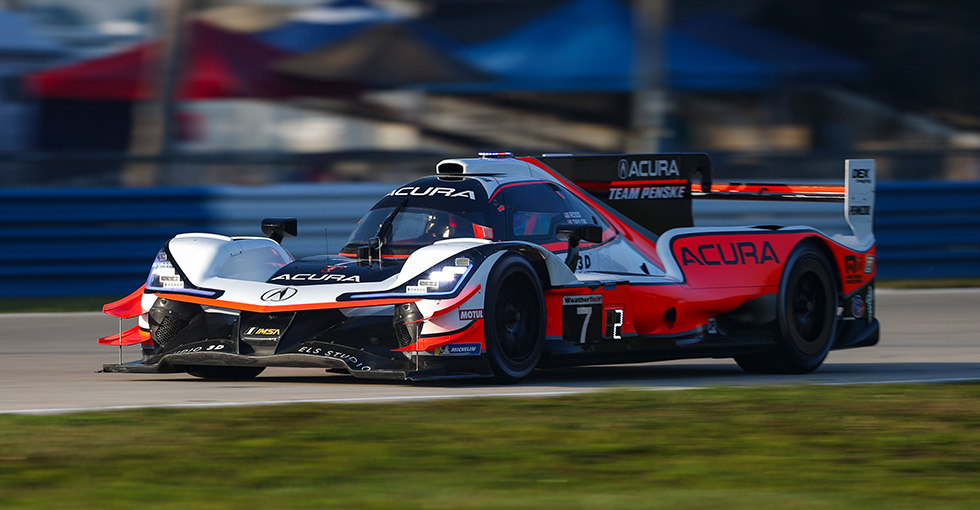 Fourth-Place Finish for Acura at Mobil 1 Twelve Hours of Sebring