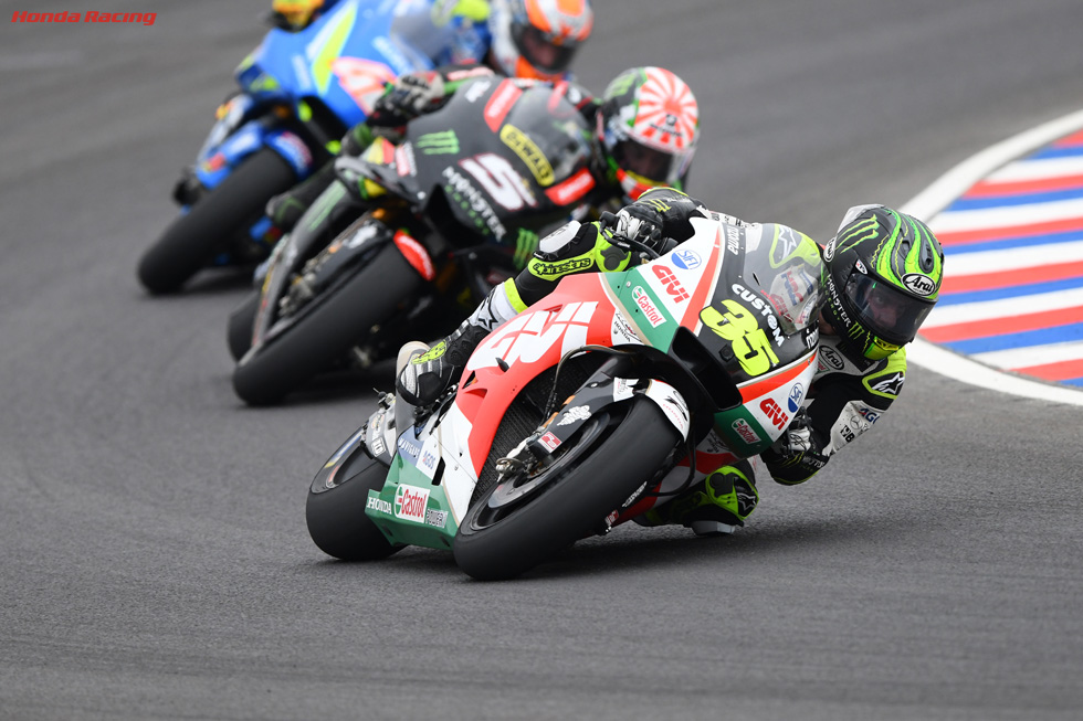 Crutchlow Wins on Historic Day for Honda