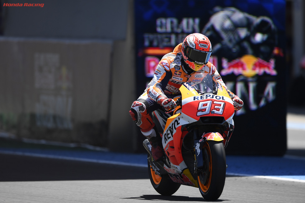 Marquez Takes World Championship Lead to Le Mans