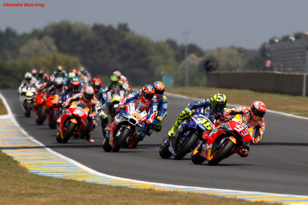 Marquez Dominates at Le Mans for Superb Victory Hat-trick