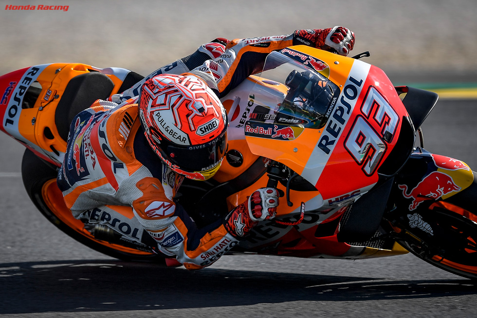 Marquez Takes On the Challenge of Magical Mugello
