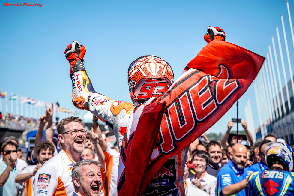 Magic Marquez Wins Assen Epic To Increase Points Lead